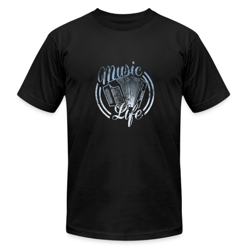 MusicLife1 - Men's Fine Jersey T-Shirt
