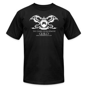 White Game Development Guild Crest - Men's Fine Jersey T-Shirt