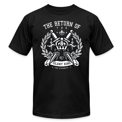 TheReturnOfTheSilentKing - Men's Fine Jersey T-Shirt