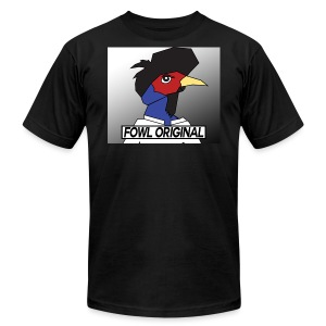 Fowl Original Logo - Men's T-Shirt by American Apparel