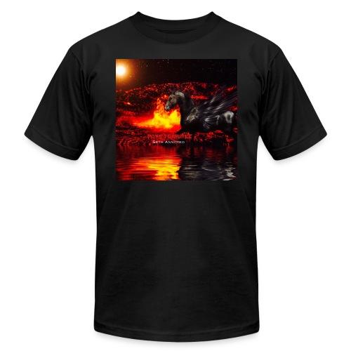 Monsterquake Seth Annoyed Album Coverart - Men's Fine Jersey T-Shirt