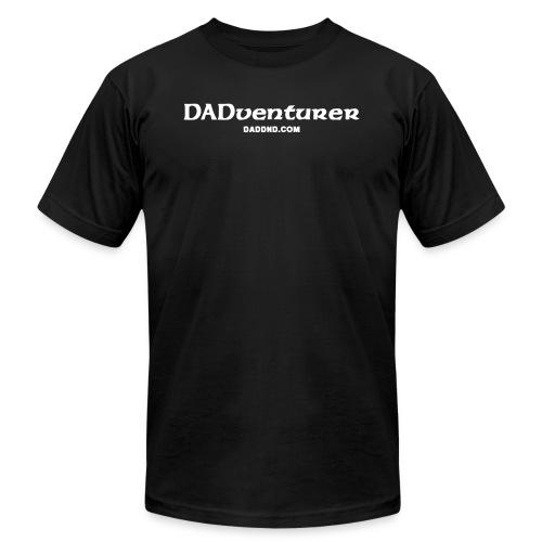 DADventurer Black T-shirt - DAD DND - Men's Fine Jersey T-Shirt