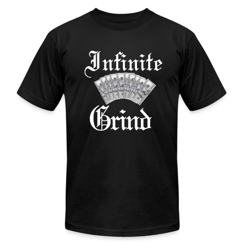 Infinite Bands White Ink - Men's Fine Jersey T-Shirt