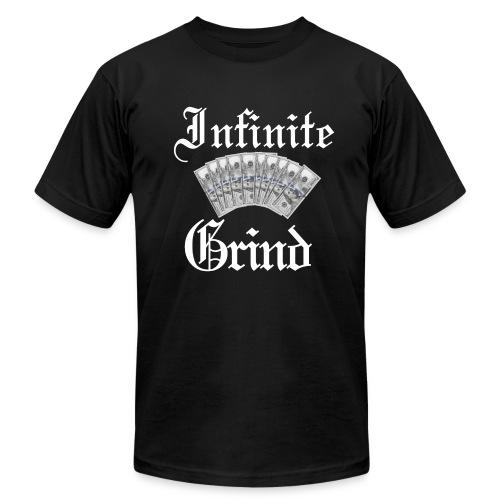 Infinite Bands White Ink - Men's Fine Jersey T-Shirt