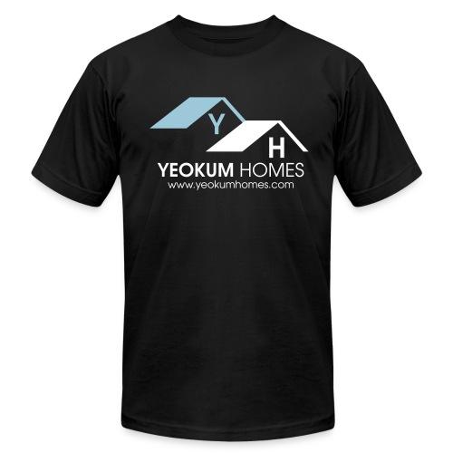 yeokum blue - Men's Fine Jersey T-Shirt