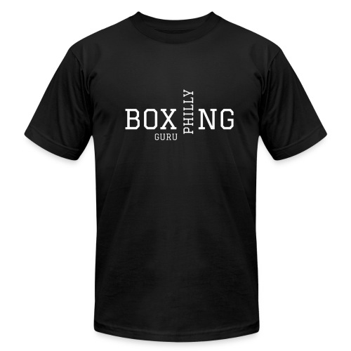 PHILLY BOXING GURU - Men's Fine Jersey T-Shirt