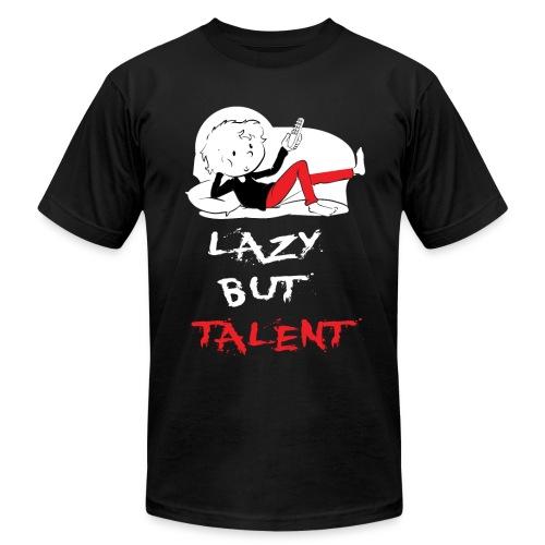 LAZY BUT TALENT - Men's  Jersey T-Shirt