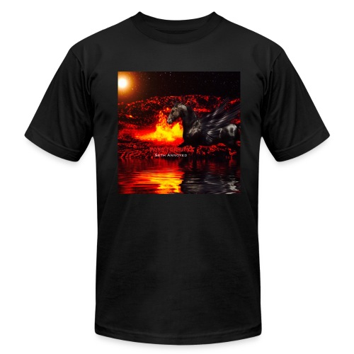 Monsterquake Seth Annoyed Album Coverart - Men's  Jersey T-Shirt
