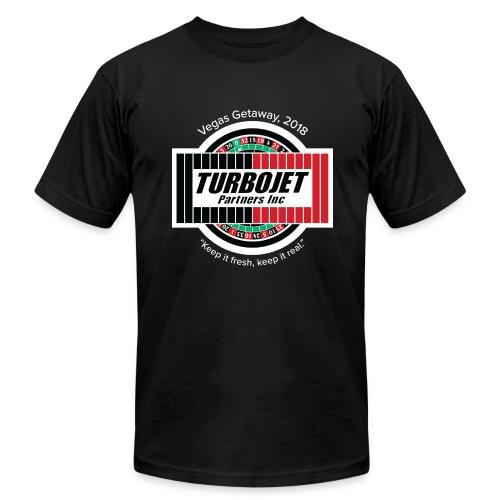 TJ Vegas T-shirt - Men's Fine Jersey T-Shirt