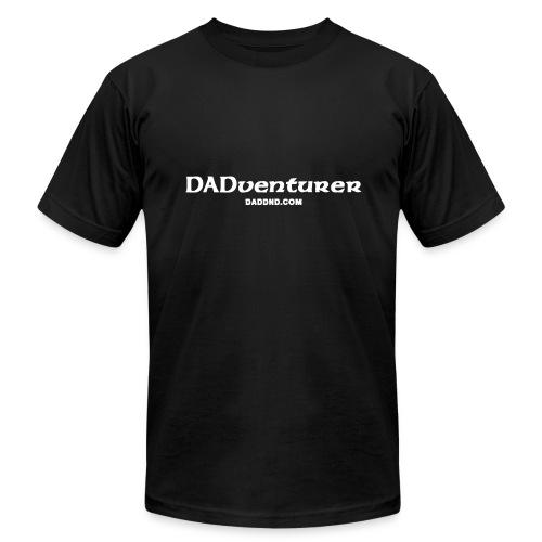 DADventurer Black T-shirt - DAD DND - Men's  Jersey T-Shirt
