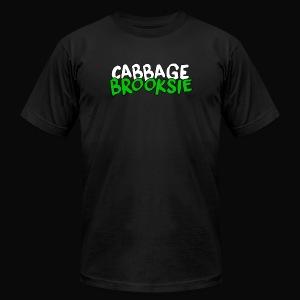 cabbagebrooksie logo v2 - Men's Fine Jersey T-Shirt