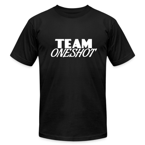 Team One Shot - All Colours - Men's Fine Jersey T-Shirt