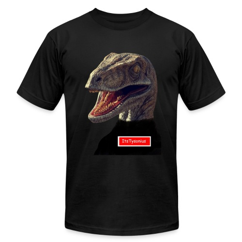 The ItsTysonius Logo - Men's  Jersey T-Shirt