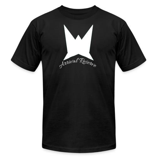Arrival Reserve logo - Men's Fine Jersey T-Shirt