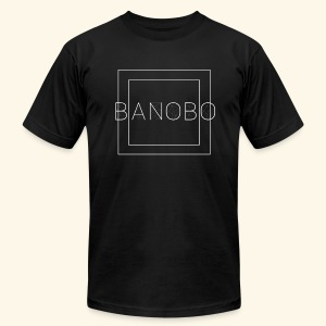 Banobo Logo - Men's Fine Jersey T-Shirt