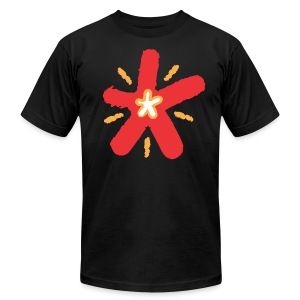 SHINE - Men's T-Shirt by American Apparel