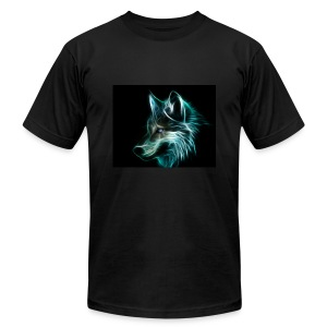 WolfShock - Men's T-Shirt by American Apparel