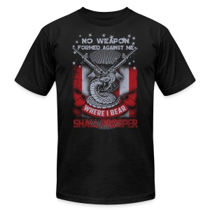 No weapon formed against me shall prosper - Men's Fine Jersey T-Shirt