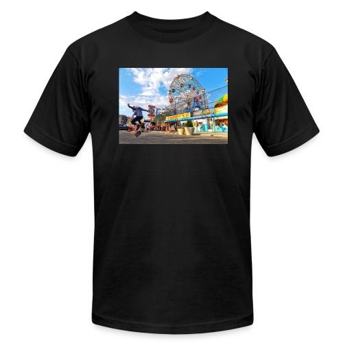 Coney Island Kickflip - Men's  Jersey T-Shirt