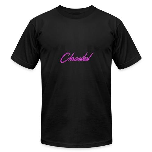 Pink Chronikal Signature - Men's Fine Jersey T-Shirt