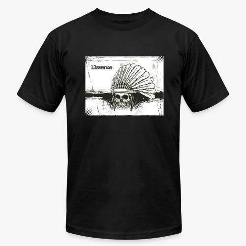 Indian Skull - Men's Fine Jersey T-Shirt