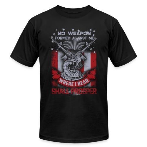 No weapon formed against me shall prosper - Men's Fine Jersey T-Shirt