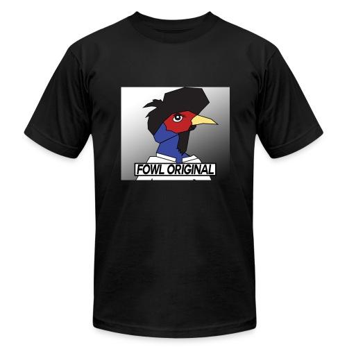 Fowl Original Logo - Men's Fine Jersey T-Shirt