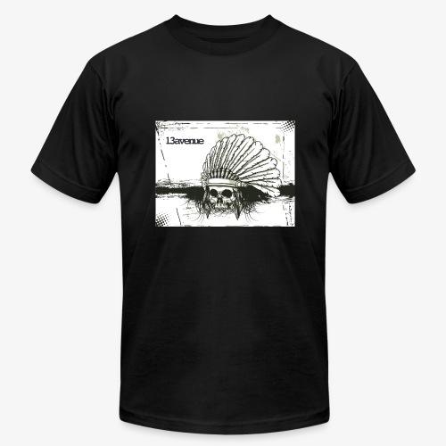 Indian Skull - Men's  Jersey T-Shirt