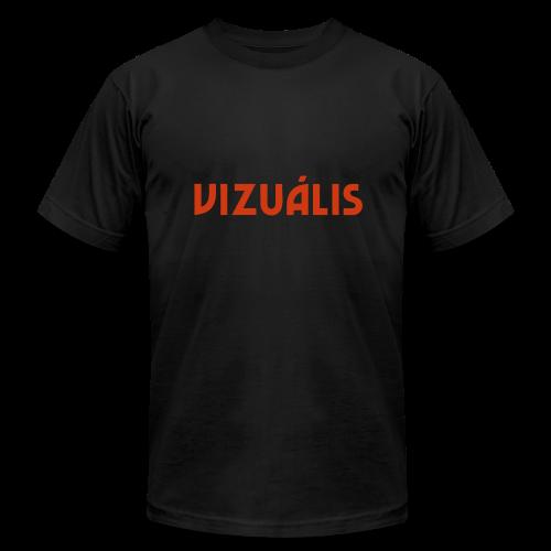 Vizuális - Men's Fine Jersey T-Shirt