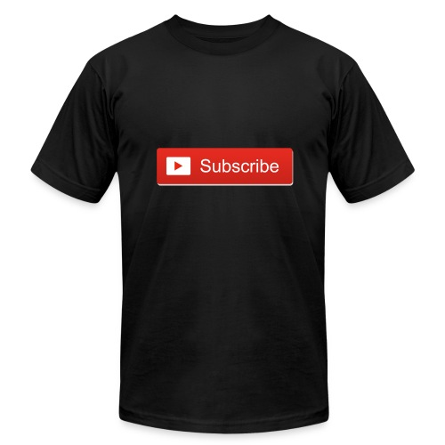 Subscribe PNG 12 - Men's Fine Jersey T-Shirt