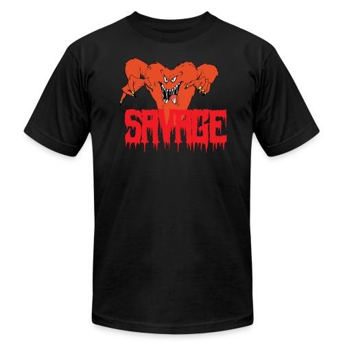 savage T shirt - Men's Fine Jersey T-Shirt