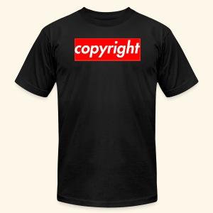 copyright - Men's Fine Jersey T-Shirt