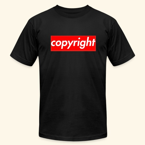copyright - Men's Fine Jersey T-Shirt