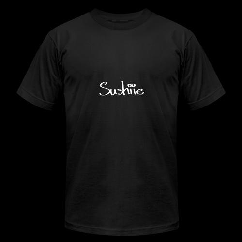 sushiie logo - Men's Fine Jersey T-Shirt