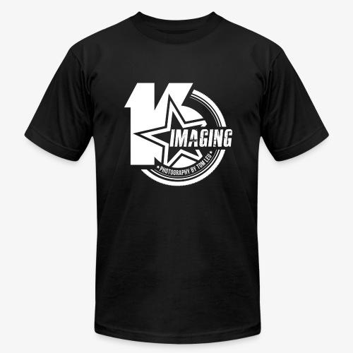 16 Badge White - Men's Fine Jersey T-Shirt
