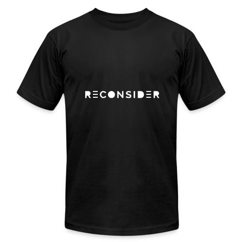 Reconsider - Men's Fine Jersey T-Shirt