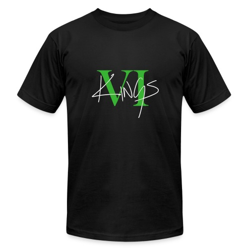 VI Kings Green/White - Men's Fine Jersey T-Shirt