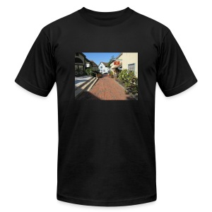 Historic Village - Men's T-Shirt by American Apparel