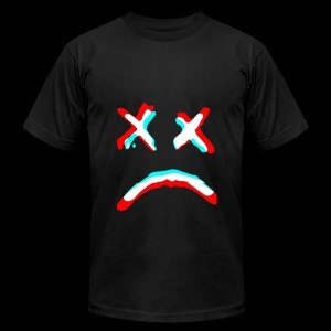 Sad face - Men's Fine Jersey T-Shirt