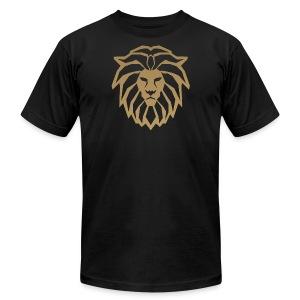 lion head gold - Men's Fine Jersey T-Shirt