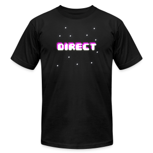 DirectShop Official T-Shirt - Men's Fine Jersey T-Shirt