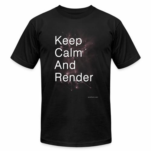 Keep Calm and RENDER - Men's  Jersey T-Shirt