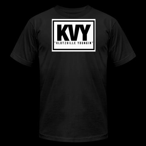 Klotzville Youngin Box Logo - Men's Fine Jersey T-Shirt