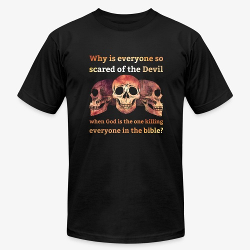 Why everyone so scared... - Men's Fine Jersey T-Shirt