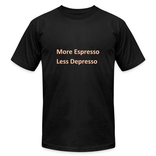 Espresso Depresso - Men's Fine Jersey T-Shirt