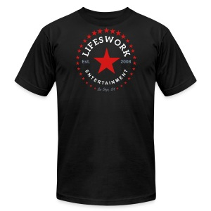Lifeswork Entertainment - Men's Fine Jersey T-Shirt