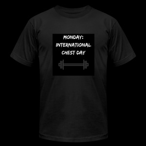 International chest day - Men's Fine Jersey T-Shirt