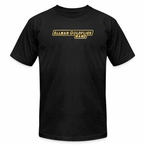 Allman Goldflies Band Logo - Men's Fine Jersey T-Shirt