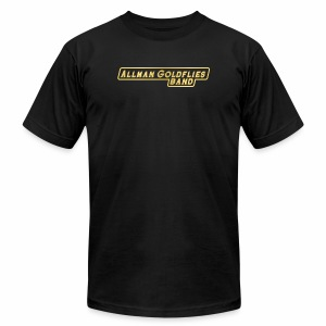 Allman Goldflies Band Logo - Men's Fine Jersey T-Shirt