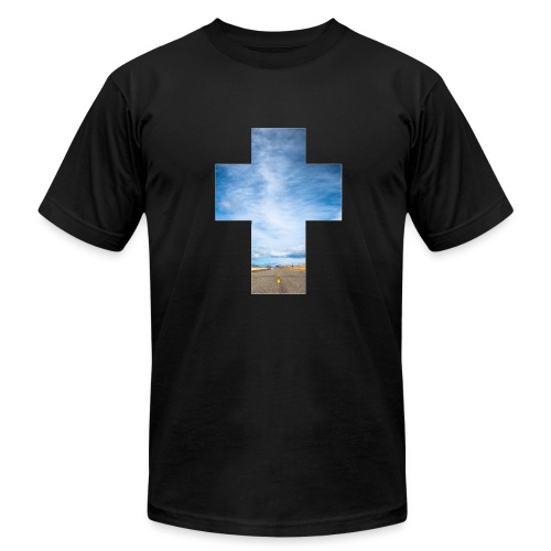 Road Cross - Men's Fine Jersey T-Shirt